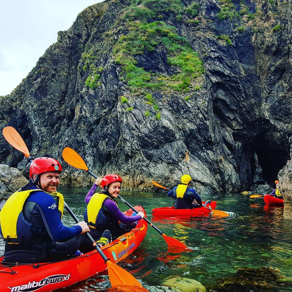 Sea Cave kayaking Ireland