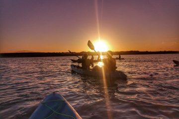 Sunset Kayaking